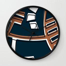 Talleres Facultad de Ciencias -Detail- Wall Clock