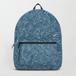 flowing lines Backpack