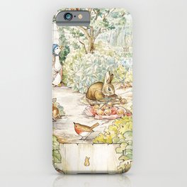 The World Of Beatrix Potter iPhone Case