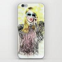2ne1 iPhone & iPod Skins featuring 2NE1 - CL (BAZAAR) by Margot Park