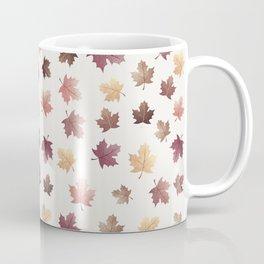 Golden Fall Leaves Coffee Mug