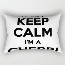 I cant keep calm I am a CHERRI Rectangular Pillow