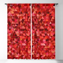 Bloody triangles Blackout Curtain