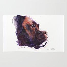Dogface Boxer Rug