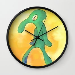 High Res Bold and Brash Repaint Painting Wall Clock