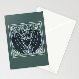 Bat from Transylvania Stationery Cards