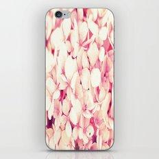 Rose Pink Flowers (Hydrangea) iPhone & iPod Skin