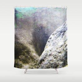 Aqua 2 Shower Curtain