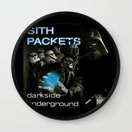 Darkside Undergound Sith Packets Wall Clock