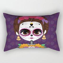 Frida Catrina Rectangular Pillow