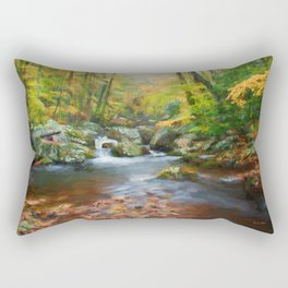 Autumns Calm Rectangular Pillow