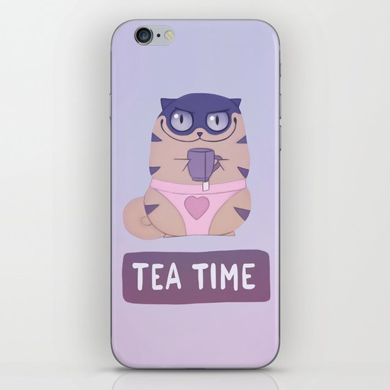 Boggart Tea Time iPhone & iPod Skin
