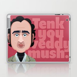 Comics of Comedy: A N D Y Kaufman Laptop & iPad Skin