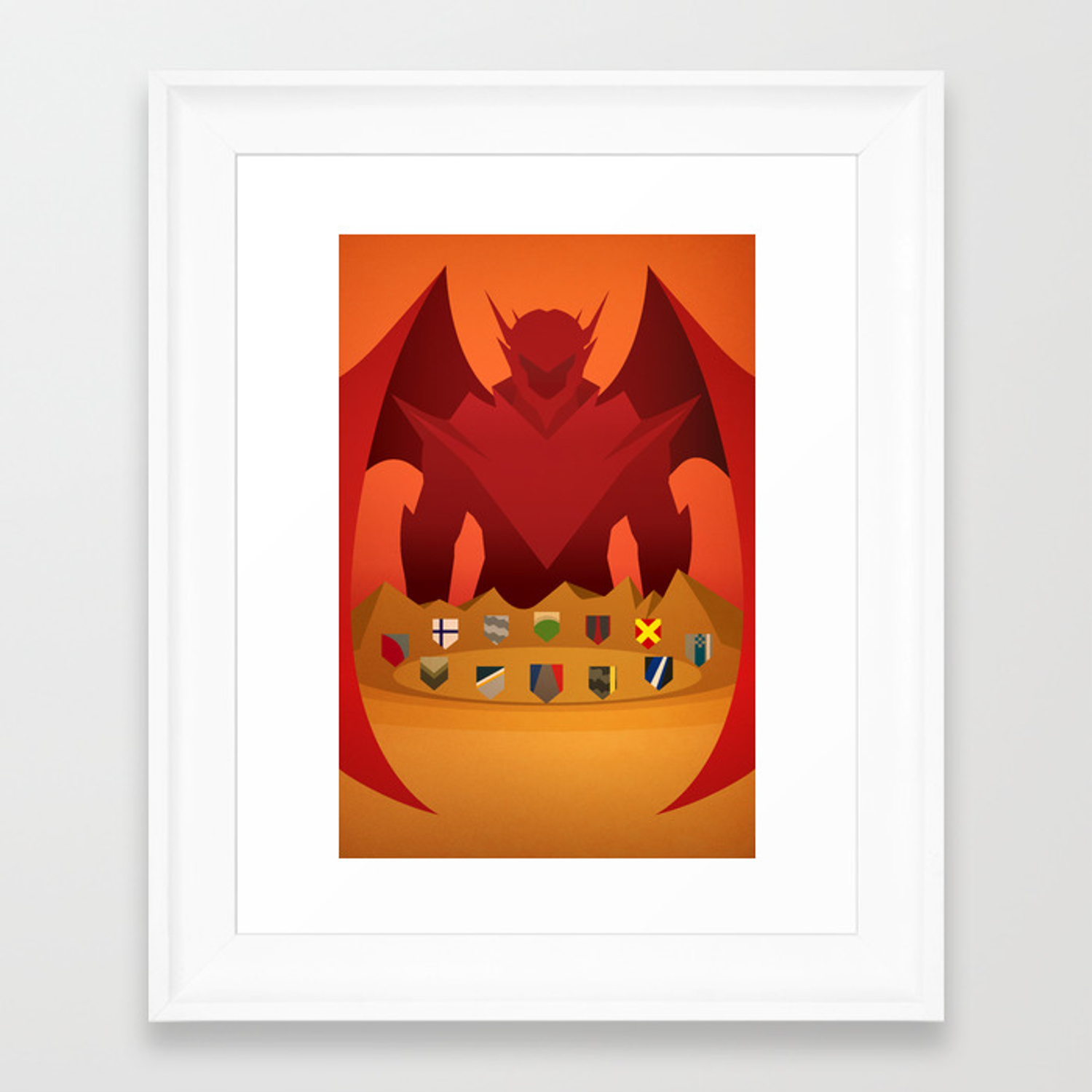The Round Table Ace Combat.Ace Combat Zero The Round Table Framed Art Print