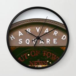 Harvard Square Wall Clock