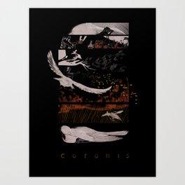 Coronis Art Print