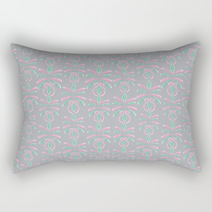 Cereal for Dinner - Geometric Rectangular Pillow