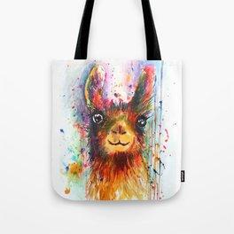 Llama love Tote Bag