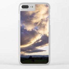 Spring is coming Clear iPhone Case