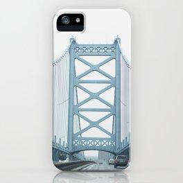 The Ben Franklin Bridge iPhone Case
