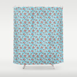 Star Spangled Sea Shower Curtain