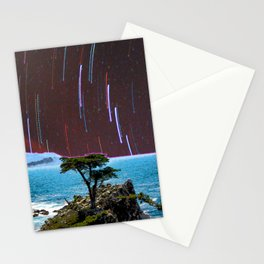 Lone Cypress Stars Stationery Cards