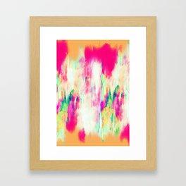 Electric Haze Framed Art Print