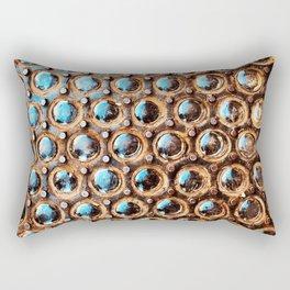 Manhattan Sidewalk Vault Lights Rectangular Pillow