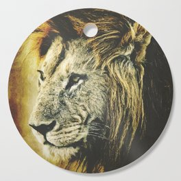 Lion Cutting Board