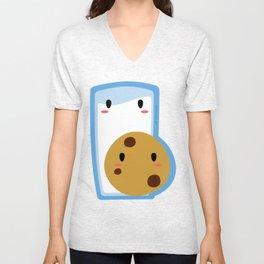 Milk and Cookie Unisex V-Neck