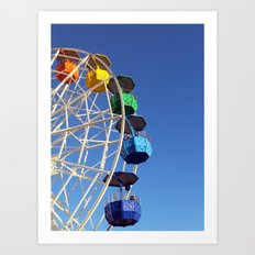 fun fair Art Print