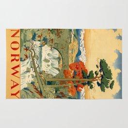 Vintage poster - Norway Rug