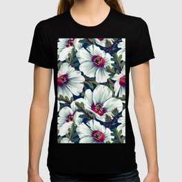 Tropical Floral Pattern T-shirt