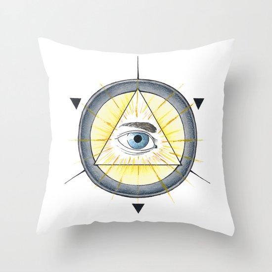 Eye of Providence Throw Pillow
