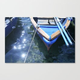 Italian boat Canvas Print