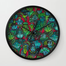 The Audience.  Wall Clock