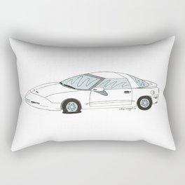 Flat Tire Firebird Rectangular Pillow