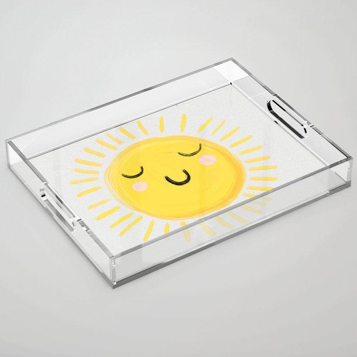 Sunshine Acrylic Tray