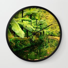 Autumn in the park Wall Clock
