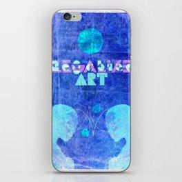 """Art Chic"" (Legalize Art part2) iPhone Skin"
