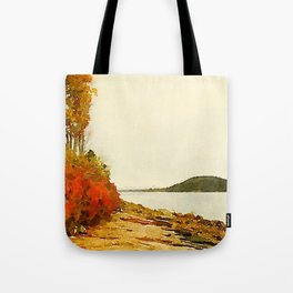Seargant Drive, MDI, Maine Tote Bag