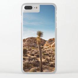 Joshua Tree National Park XVII Clear iPhone Case