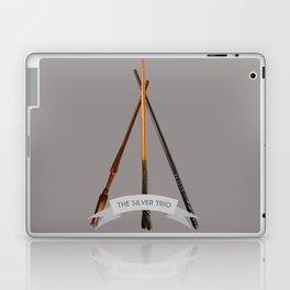 The Silver Trio Laptop & iPad Skin