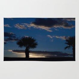 Palm Sunset - IV Rug