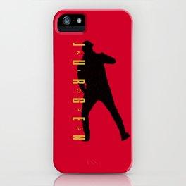 Klopp Red iPhone Case