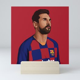 Leo Messi Mini Art Print