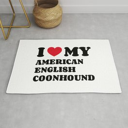 American English Coonhound Rug