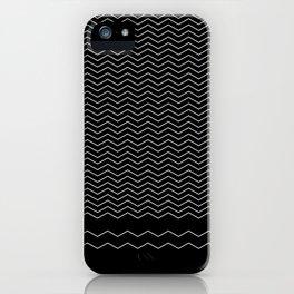 Black sea iPhone Case