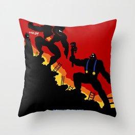 Donkey Knight Throw Pillow