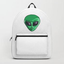 Half Human Half Cosmos UFO Extraterrestrial Space Backpack